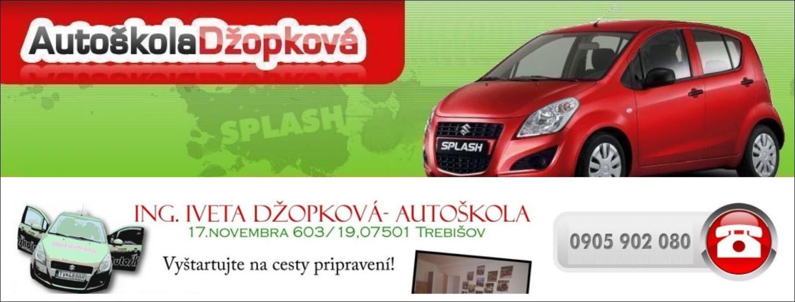 Autoškola Džopkova Trebišov - Autoškoly Slovenskej Republiky