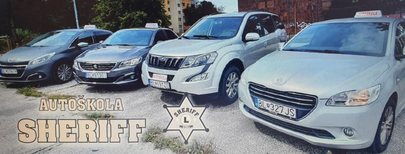 Autoškola Sheriff Bratislava - Autoškoly Slovenskej Republiky