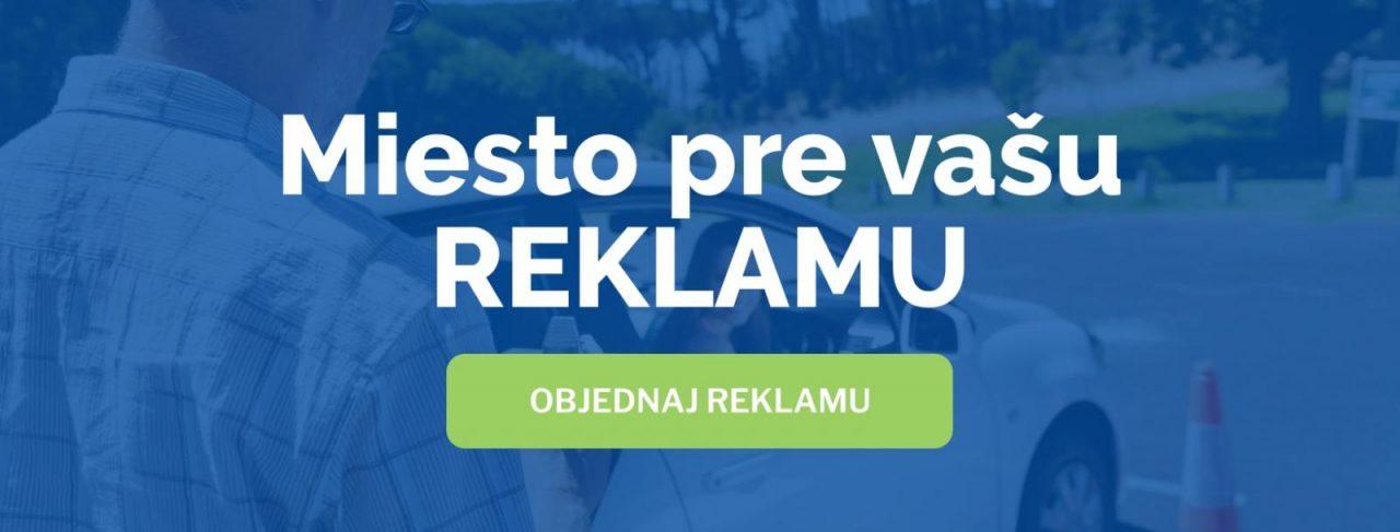 Objednaj reklamu na stránkach autoškôl Slovenska.